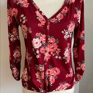 Jr Tie Up Top VERY SOFT! Size M 7-9